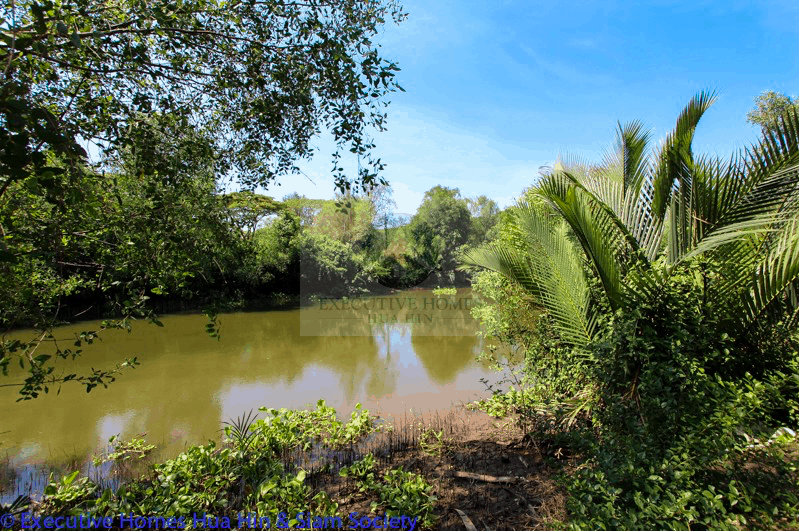 Riverfront land for sale in Pranburi | Hua Hin Real Estate Listings For Sale | River homes for sale in Pranburi | Hua Hin Real Estate Agents | Hua Hin & Pranburi Estate Agents