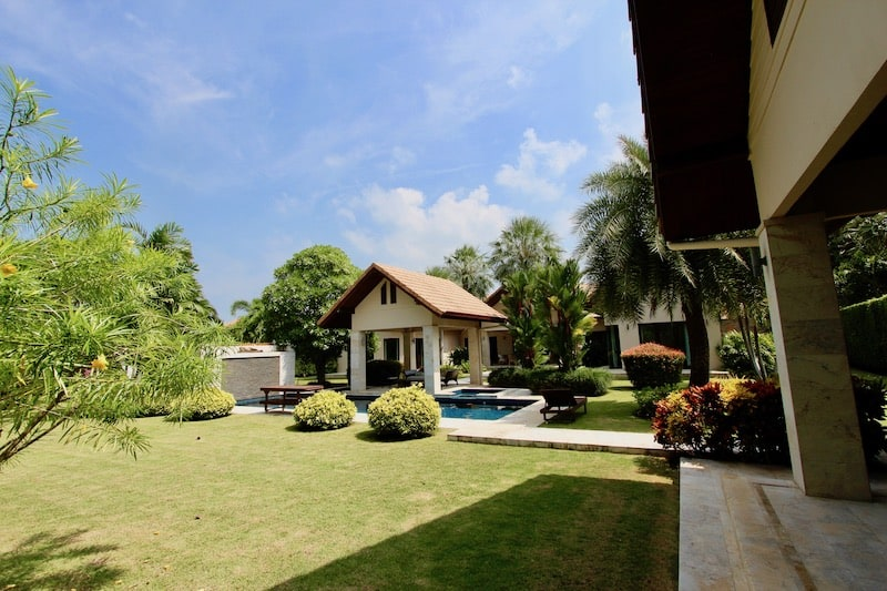 6 bedroom pool villa for rent in pranburi | Khao Kalok Rental Property | Pranburi Real Estate Agents