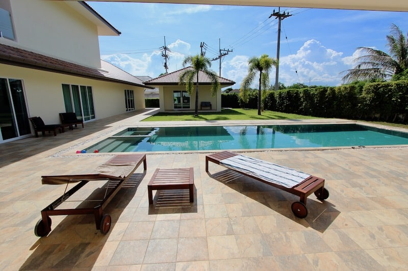 BIG 5 BEDROOM HUA HIN HOUSE FOR RENT | Hua Hin Real Estate Agents